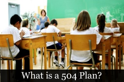 504 Plan Food Allergies