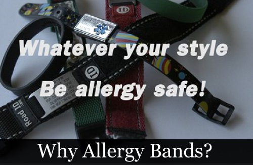 What are allergy bands?