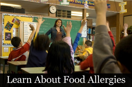 Learn about food allergies